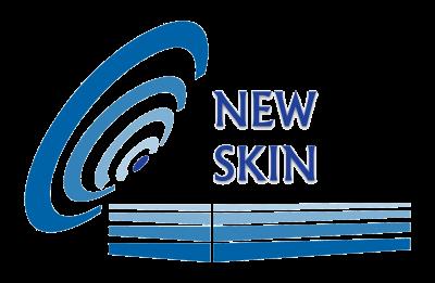 NewSkin logo transparent